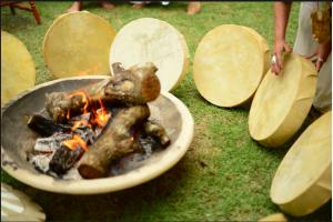 tambores fogo